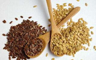 Применение семян льна при панкреатите