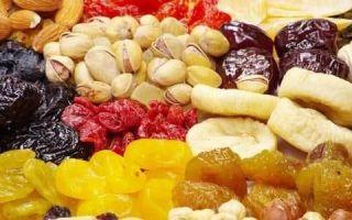 При панкреатите можно ли сухофрукты