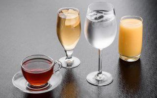 При панкреатите что можно пить