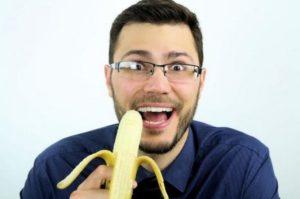 есть банан