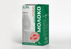 молоко жирность 2.5