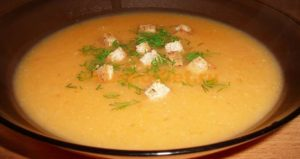 перетертый суп из перловки