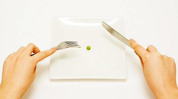 при обострении голодание