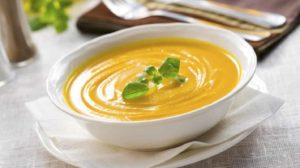 суп пюре с сухофруктами и тыквой