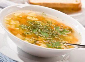 суп с перловой крупой