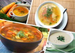 виды супов при панкреатите