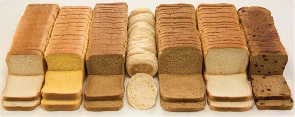 хлеб виды