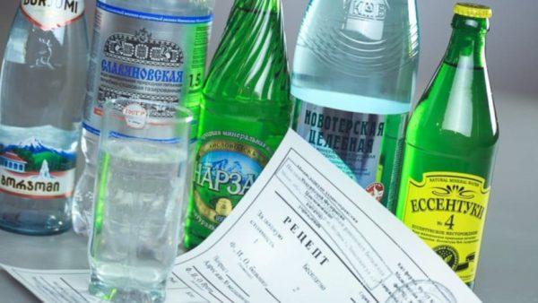 пить минералку при панкреонекрозе