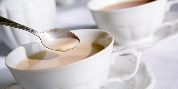с молоком чай