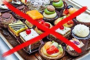 запрет пирожных