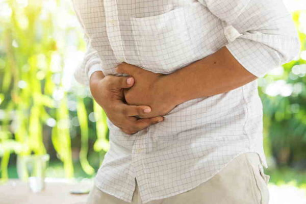 боль в животе - симптом панкреатита