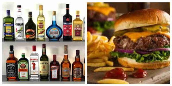 проявление острой фазы после алкоголя и жирной еды