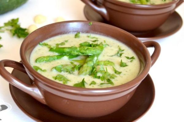 Суп молочный с кабачком и геркулесовой крупой