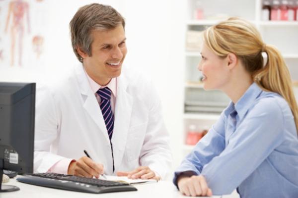 консультация врача перед обследованием