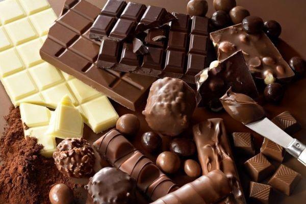 шоколад с разными добавками